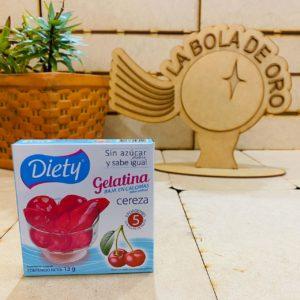 DIETY GELATINA CEREZA SIN AZUCAR 13 GR