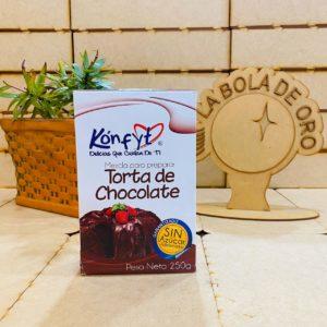 KONFYT MEZCLA TORTA DE CHOCOLATE SIN AZUCAR 250GR
