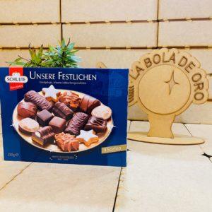 CHULTE UNSERE FESTLICHEN CHOCOCOLATE ALEMAN 250GR