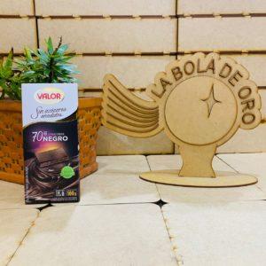 VALOR CHOCOLATE TABLETA 70% NEGRO SIN AZUCAR 100GR